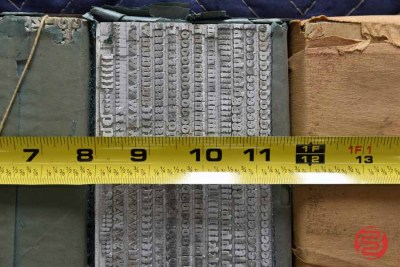 Assorted New Type Font Boxes (Qty - 6) - 050621100634
