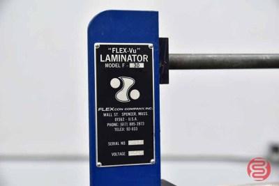 FlexCon Co. Flex-Vu F-30 Cold Laminator - 052121080455