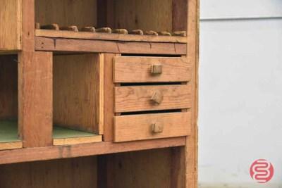 Half-Sized Linotype Magazine Cabinet - 050521092647