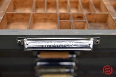 Hamilton Letterpress Typekit Cabinet - 050321014040
