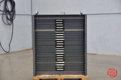 Hamilton Letterpress Typekit Cabinet - 050321114040