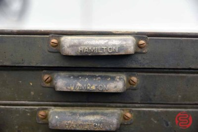 Hamilton Typekit Letterpress Drawers (Qty - 13) - 050421100122