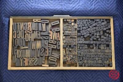 Letterpress Font Wood Type - 050421021539