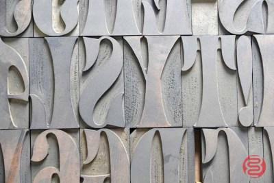 Letterpress Font Wood Type - 050421024551