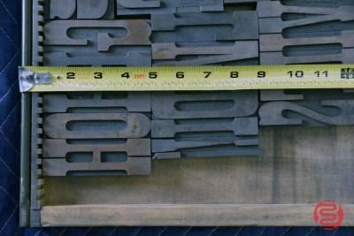 Letterpress Font Wood Type - 050521104522
