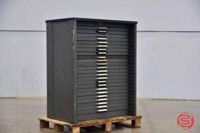 Letterpress Typekit Cabinet - 050321122050