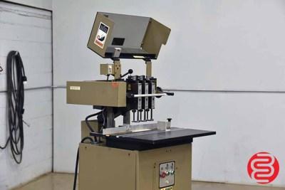 1998 Baum ND5 Three Spindle Hydraulic Paper Drill - 061121112020