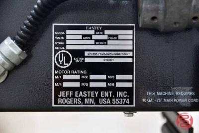 2003 Eastey Shrink Wrap System w/ L-Bar Sealer and Heat Tunnel - 060821102540