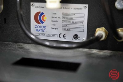 2004 Colormatic ID 2500 Ink Doser - 060821120710