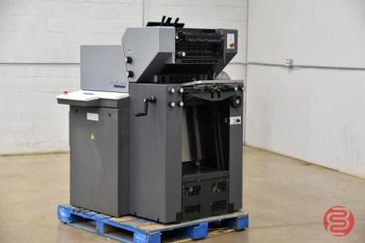 2004 Heidelberg Printmaster QM-46-2 Two Color Printing Press - 060821100120