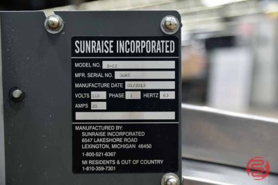 2013 Sunraise S-12 Tabletop Thermographer - 060321111050