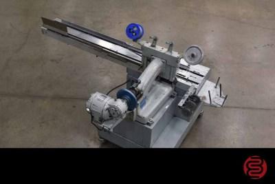Acme Interlake Model 600 Automated Book / Corner Stitcher Built on Lug Conveyor - 060921100830Acme Interlake Model 600 Automated Book / Corner Stitcher Built on Lug Conveyor - 060921100830