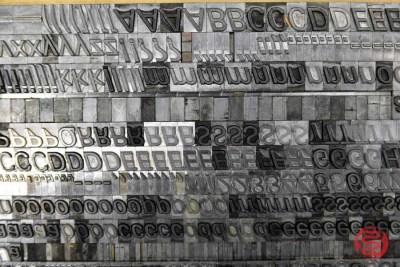 Assorted Letterpress Font Metal Type - 062821100030