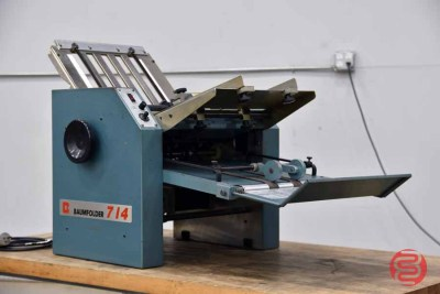 Baum 714 Friction Feed Paper Folder - 062321015011