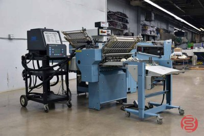 MBO B120 Pile Feed Paper Folder w/ 8 Page unit and Mobile Delivery - 062921125306