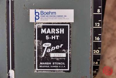 Marsh Stencil 5-Hit Hand Taper - 062921033118