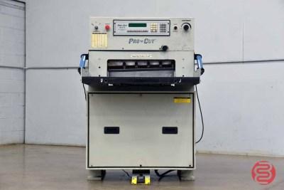 Pro-Cut 235 Hydraulic Programmable Paper Cutter - 061521022537