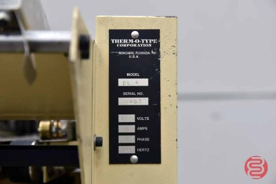 Therm-o-Type DL-4 Four Up Business Card Slitter - 062921094123