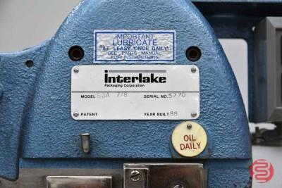 Acme Interlake Model S3A Flat Book / Saddle Stitcher - 072921124610