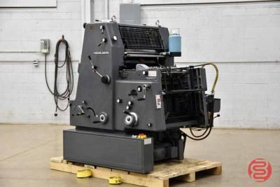 Heidelberg GTO 52 One Color Offset Printing Press - 072821121650