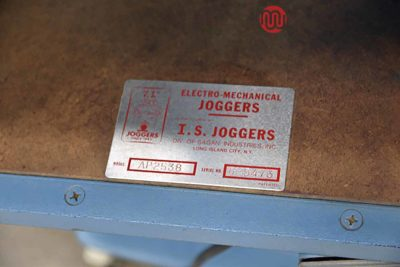 I.S. Electro-Mechanical Paper Jogger - 072921101930