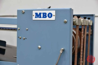 MBO B20 Continuous Feed Paper Folder w/ 8 Page Unit and Mobile Delivery - 070721111455