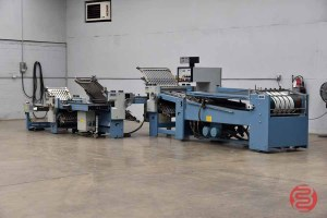 MBO B26 Continuous Feed Paper Folder w/ 8 Page Unit and Mobile Delivery - 072221020015