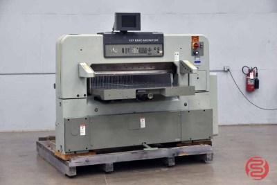 Polar 137EMC-MON 53in Programmable Paper Cutter - 072740082510