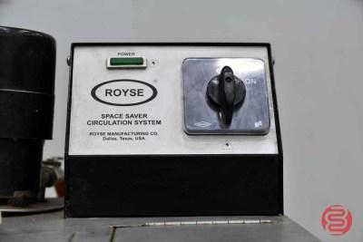 Royse Space Saver Circulation System - 071421111040