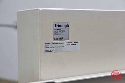 Triumph 5551-06 EP Paper Cutter - 071521010120