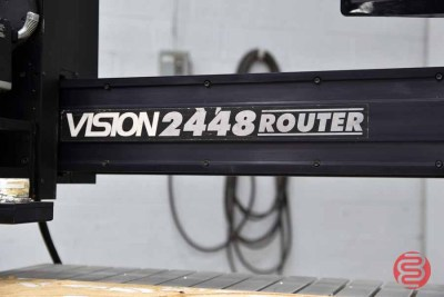 Vision 2448 Router w/ Engraving System Series II - 063021101937