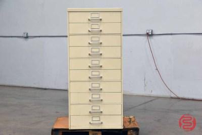 10-Drawer Flat File Cabinet - 091121081214