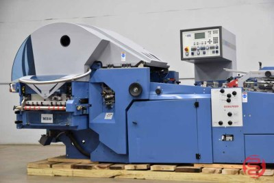 2006 MBO Perfection Navigator K800 Continuous Feed Paper Folder w/ ASP 66 Stacking / Pressing Unit - 080221113405