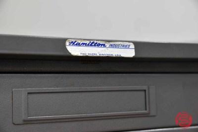 Hamilton Flat Letterpress Metal Typekit Cabinet - 082635073745