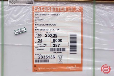 Pacesetter 25 x 38 Silk Text Paper (6,000 Sheets) - 073021023537
