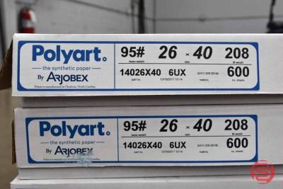 Polyart 95lb 26 x 40 Synthetic Paper (~1,800 Sheets) - 080221010734