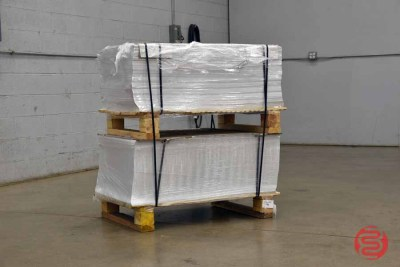 White 100lb 26 x 40 Anchor Gloss Cover Paper (200 Sheets) - 073021101730