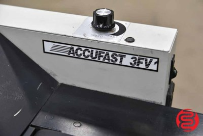 Accufast KT Tabbing Machine w/ 3FV Conveyor and Accufast XL - 081921110350