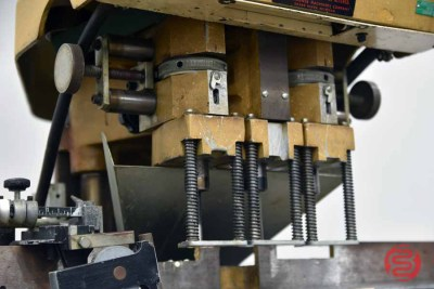 Challenge EH-3 Three Spindle Hydraulic Paper Drill - 090921090920