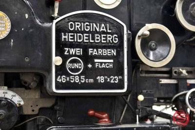 Heidelberg 18 x 23 KSBA Cylinder Die Cutter - 092221021520