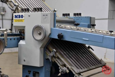 MBO B123 8 Page Unit Paper Folder w/ Mobile Delivery - 090821023340