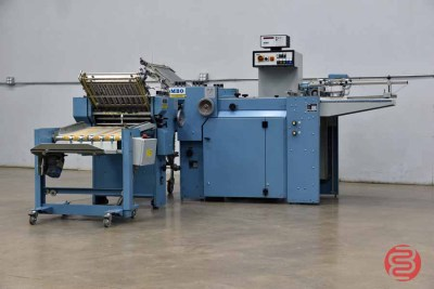 MBO B20 Pile Feed Paper Folder w/ 8 Page Unit and Mobile Delivery - 091721011415