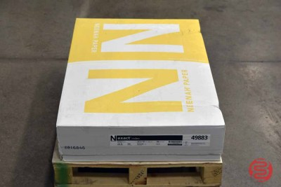 Neenah Ivory 22.5 x 35 Smooth Paper 284 M (500 Sheets) - 083121111616
