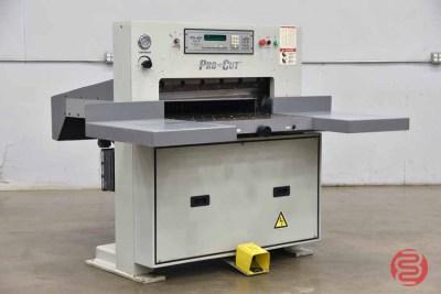 Pro-Cut Model 320 MPS Hydraulic Paper Cutter - 090121014525