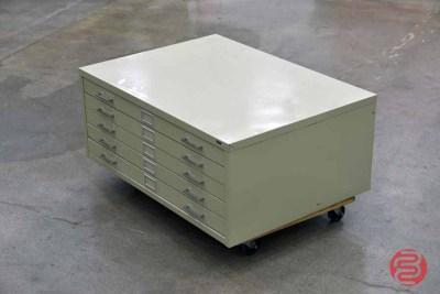 SAFCO Flat Filing Cabinet - 092721065355
