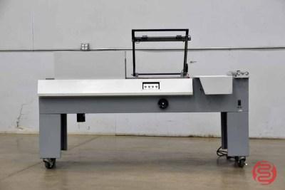 Shrink Wrapping System L-Bar Heat Sealer w/ Heat Tunnel - 092021104612