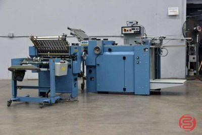 MBO B20 Pile Feed Paper Folder w/ 8 Page Unit and Mobile Delivery - 100121082427