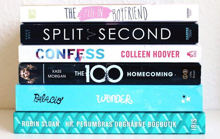 Top 5 Bøger jeg ville have læst allerede i går