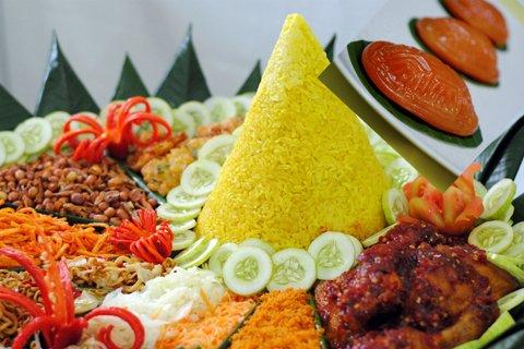 Nasi Tumpeng A Traditional Culinary Of Indonesian Society