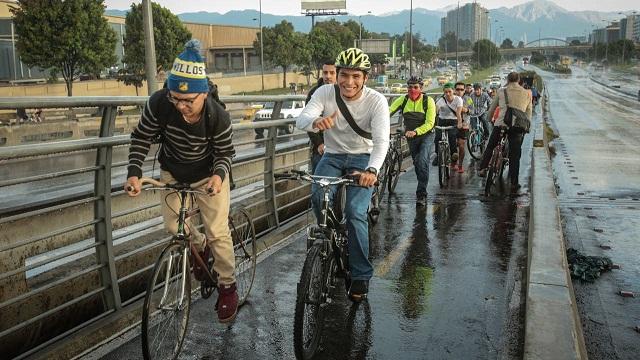 Día sin Carro 2017 - Foto: Comunicaciones Alcaldía Mayor de Bogotá / Diego Bauman